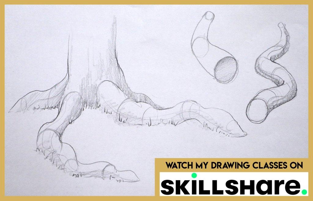 Drawing classes on skillshare