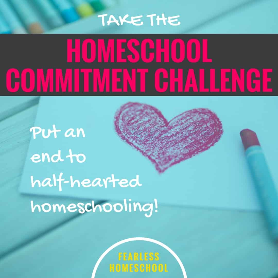 Take the Homeschool Commitment Challenge!
