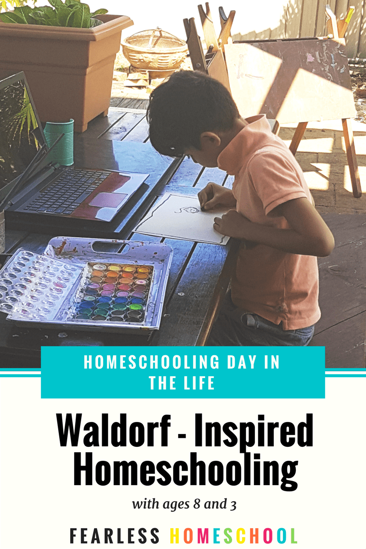 Waldorf Homeschooling - A Day in the Life from Fearless Homeschool