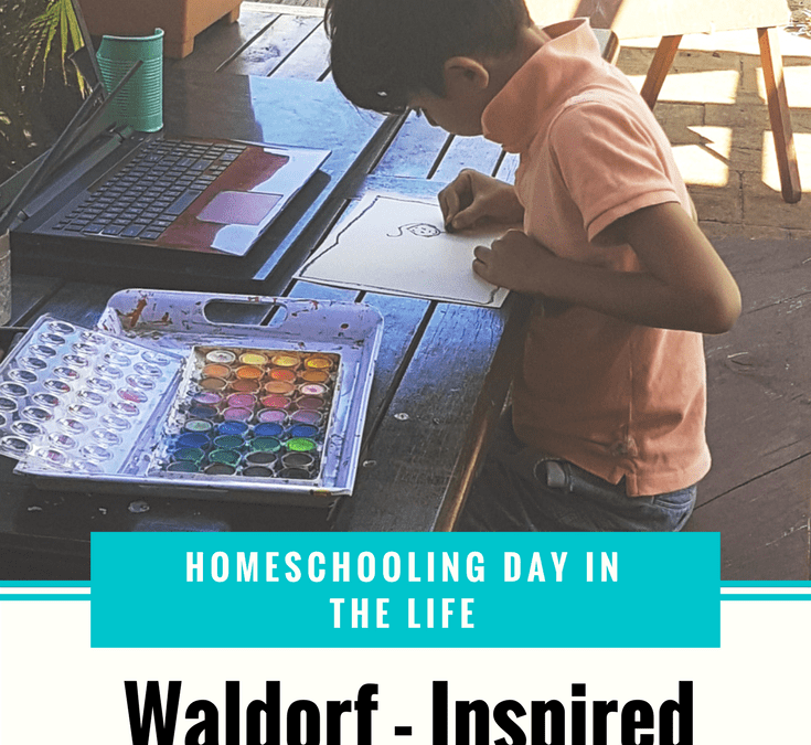 Waldorf – Inspired Homeschooling | A Homeschooling Day in the Life