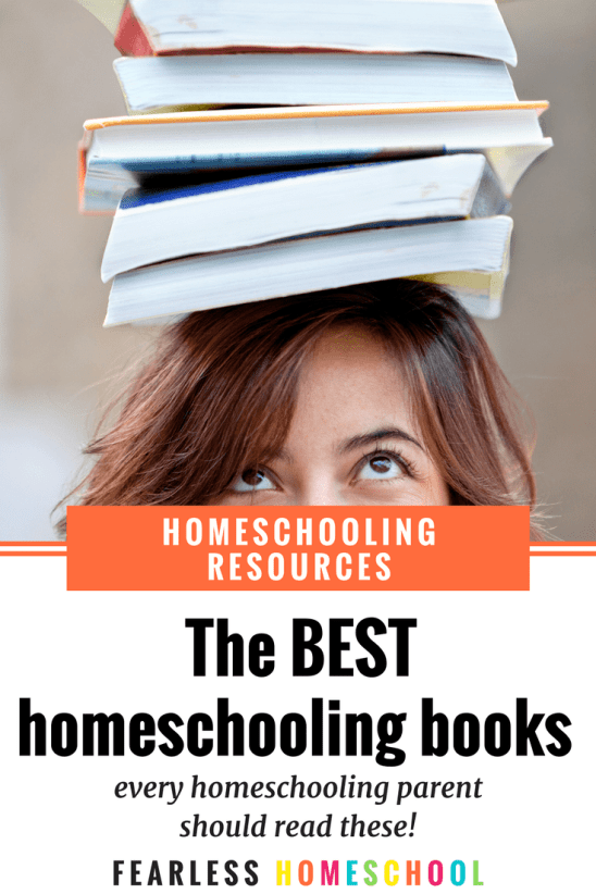 The BEST homeschooling books - every homeschooling parent should read these!