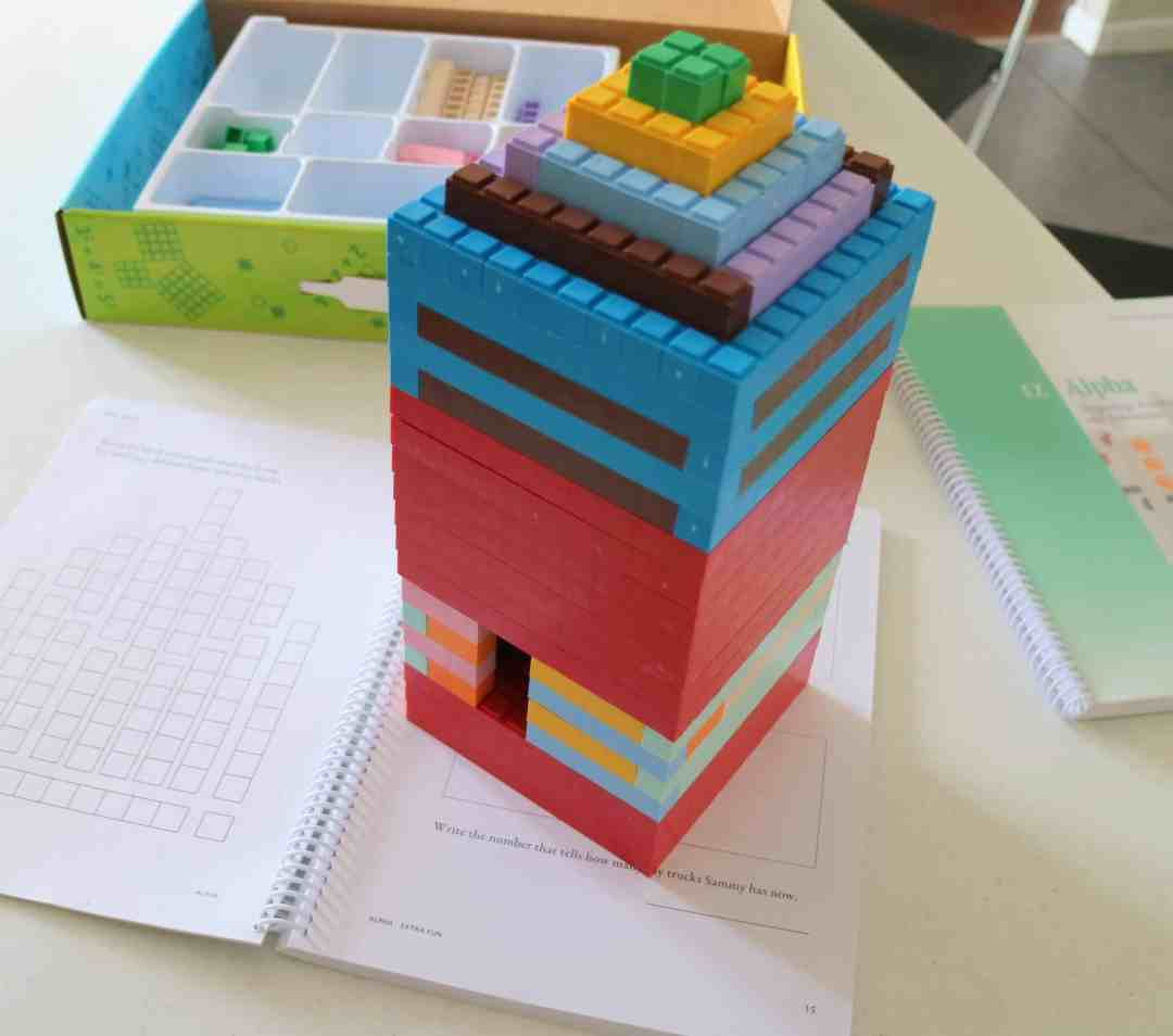 Math-U-See tower