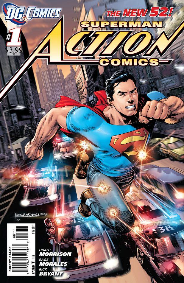 Action Comics 1 Grant Morrison Rags Morales