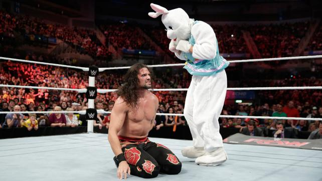 Adam Rose the Bunny Raw 11:10:14