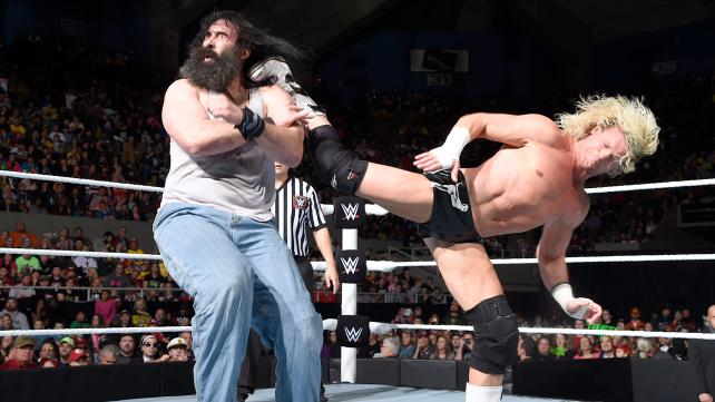 WWE Dolph Zigger vs Luke Harper