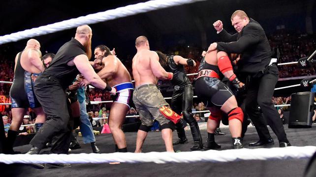 WWE Raw Team Cena Team Authority