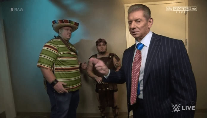 WWE Vince McMahon Exotic Express