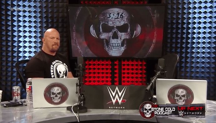 WWE Steve Austin Podcast