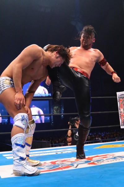 Shinsuke Nakamura vs Kota Ibushi NJPW WK9 02