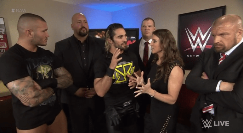 WWE Randy Orton Business Meeting