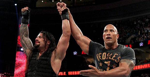 The Rock Roman Reigns