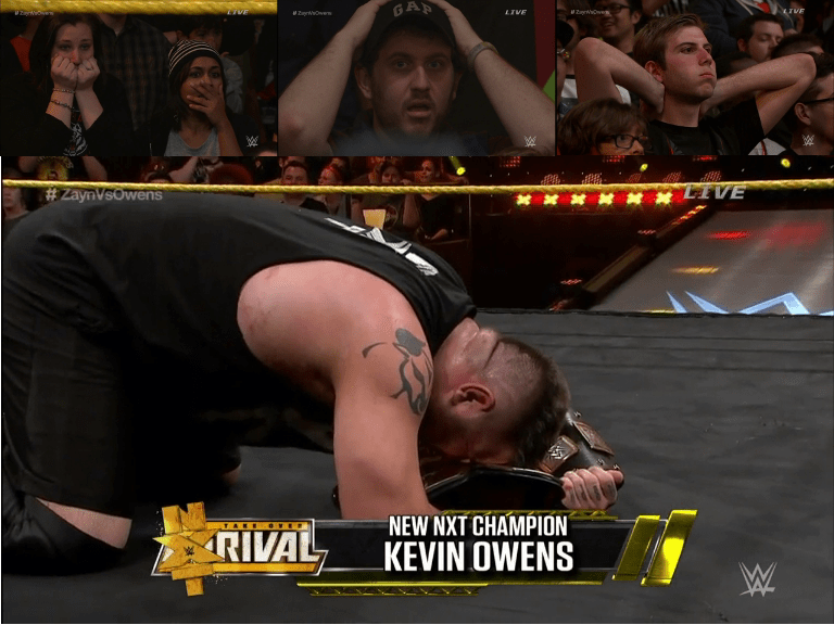Kevin Owens new NXT Champion