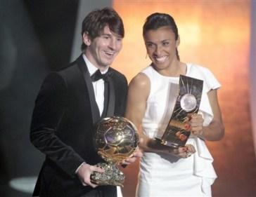 Lionel Messi , Marta