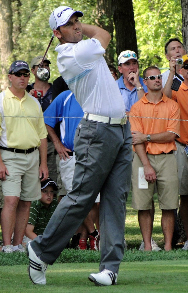 Sergio Garcia has a huge bulge... (1/5)