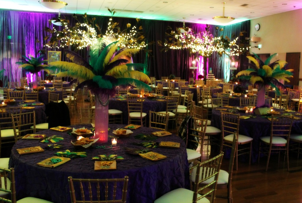 Mardi Gras Sweet 16 Party  Fearon May Events