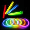 A package of glow sticks and glow necklaces to provide more light in the haunted houses.