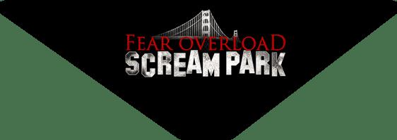 Fear Overload Scream Park logo