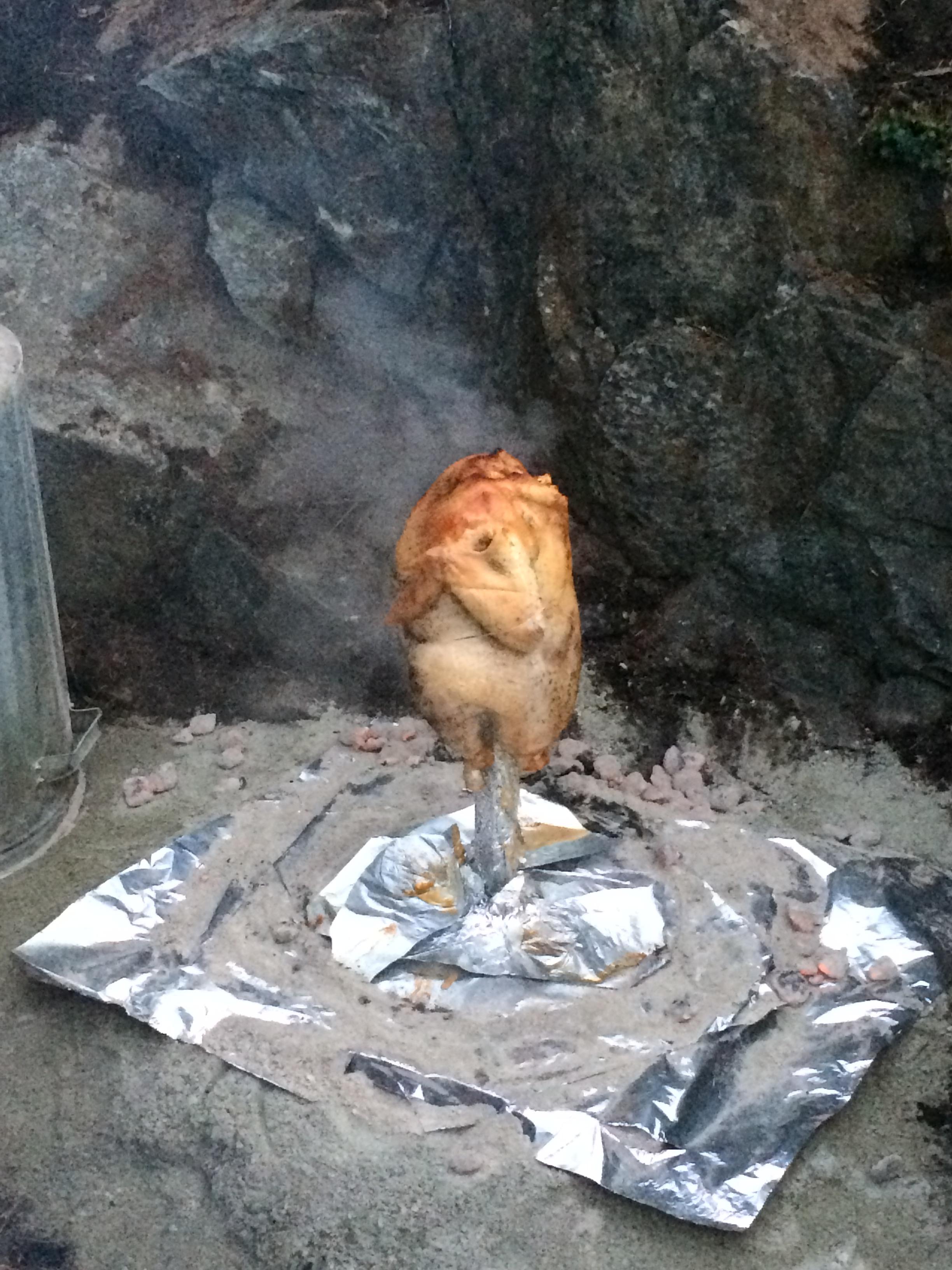 garbage can turkey feast