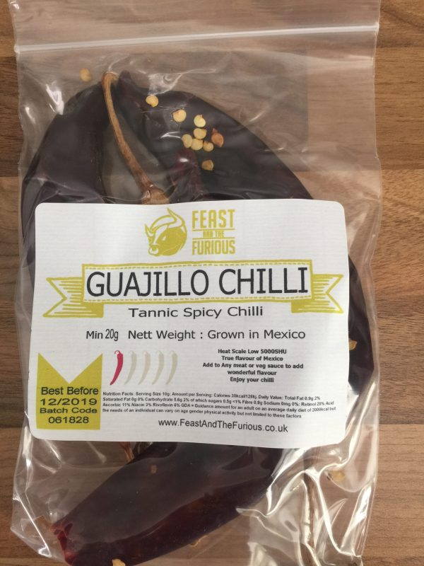 Guajillo Chilli Whole