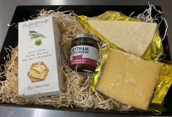 Cheese Lovers Gift Box (2 cheeses)
