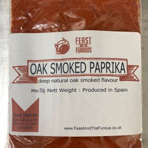 Oak Smoked Paprika 50g