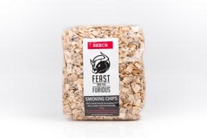 Hot smoking wood chips - Beech