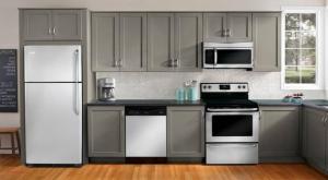 6 White Appliance Kitchen For Lovely Bright Kitchen