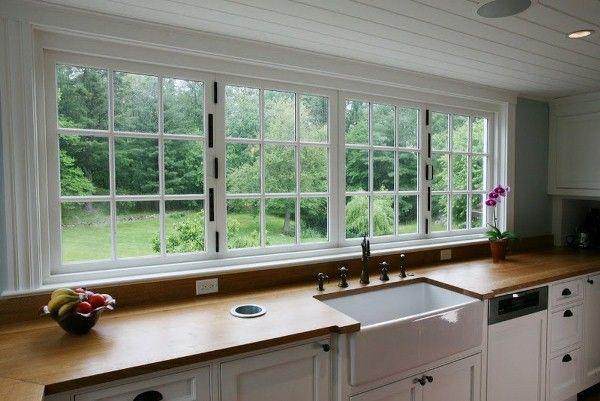 16 warm grey kitchen window treatments