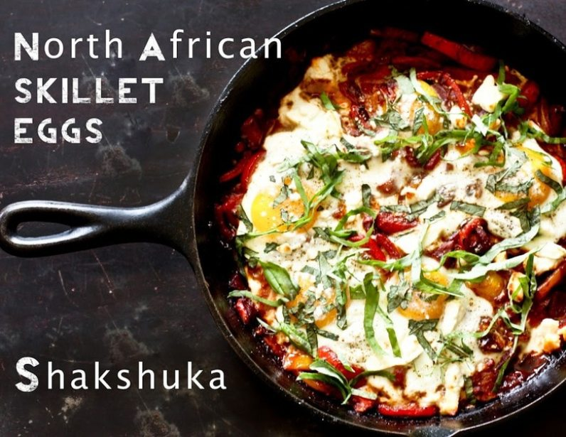 Shakshuka North African Skillet Eggs
