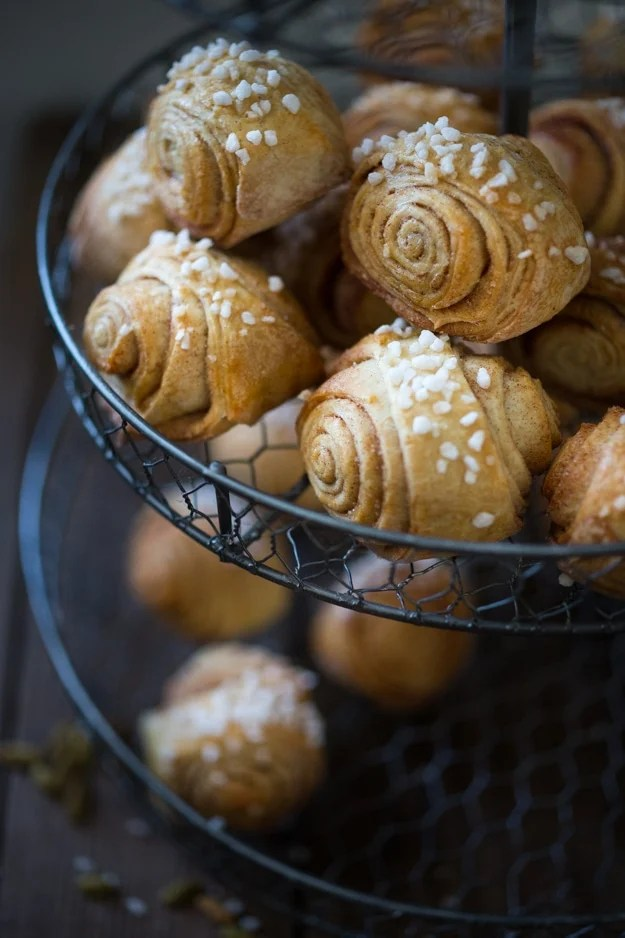 Finnish Cardamom Rolls | Feasting At Home