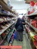 Navigating your way around an Asian supermarket.
