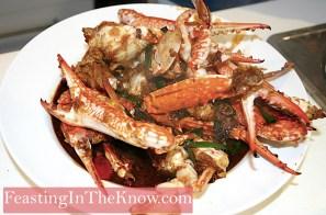 crab in bean sauce