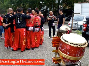Chinese lion dance prep 1