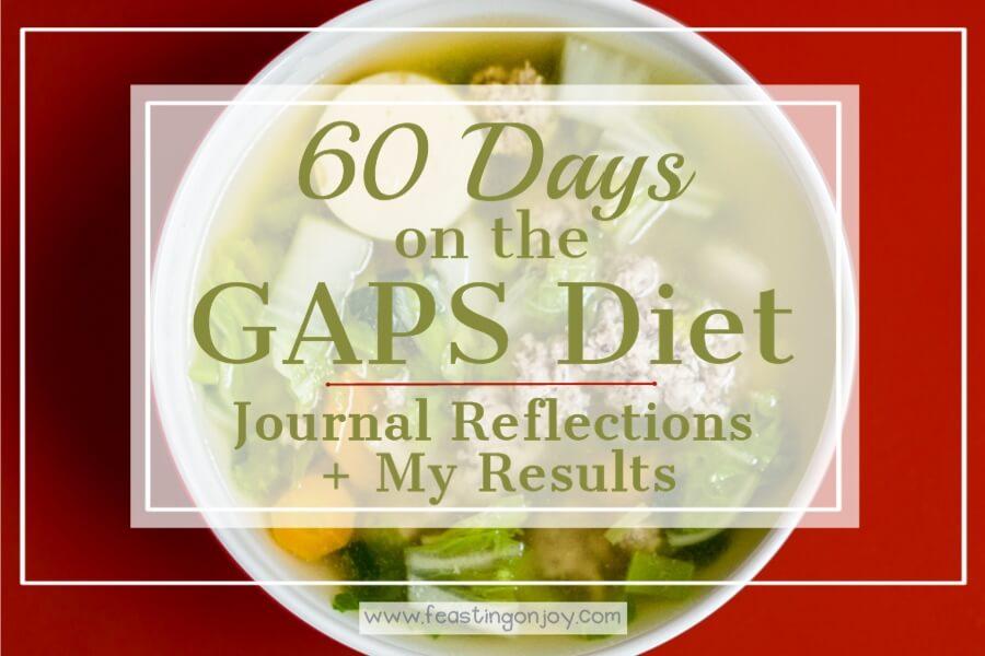 gaps diet how many days