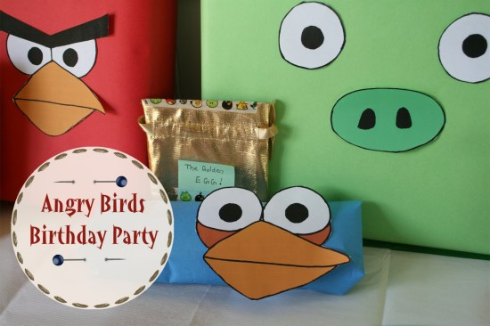 Angry Birds Birthday Party Presents