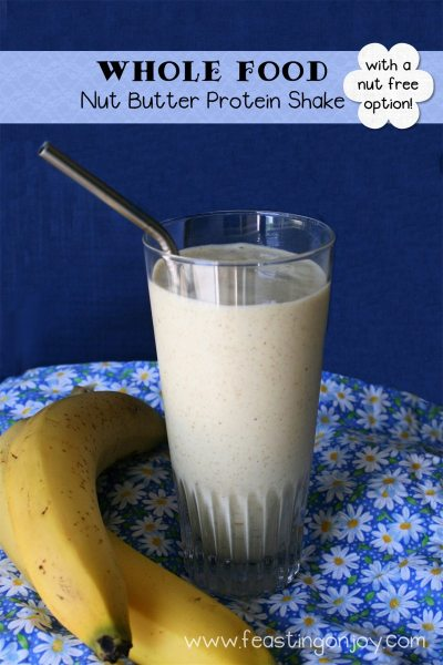 Whole Food Nut Butter Protein Shake