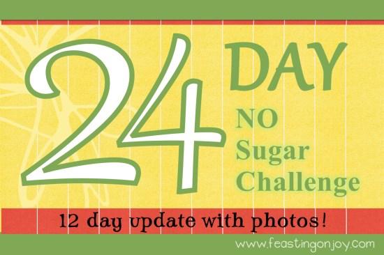 24 Day No Sugar Challenge 12 Day Update with Photos