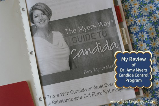 Review of Dr. Amy Myers Candida Control Program | Feasting On Joy