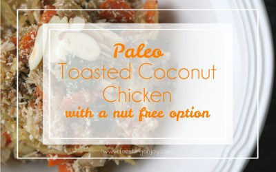 Paleo Toasted Coconut Chicken