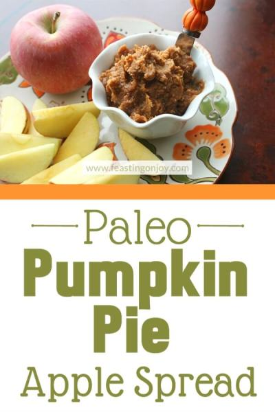 Paleo Pumpkin Apple Spread | Feasting On Joy