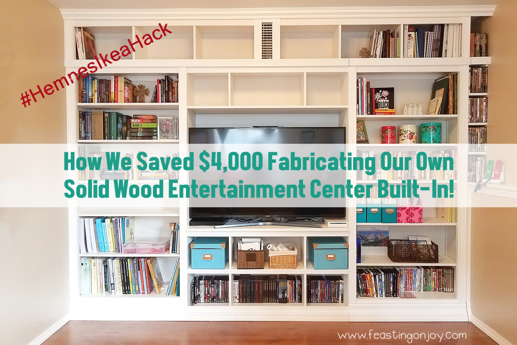 How We Saved $4,000 Fabricating Our Own Solid Wood Entertainment ...