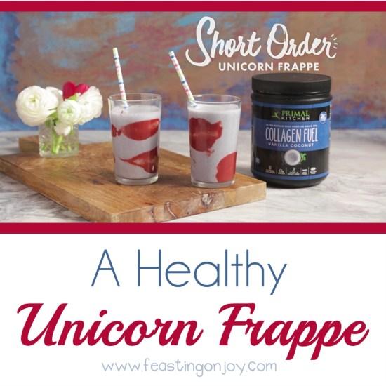 A Healthy Unicorn Frappe 3 | Feasting On Joy