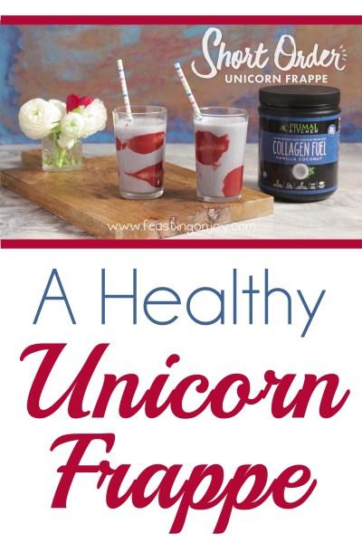 A Healthy Unicorn Frappe 2 | Feasting On Joy