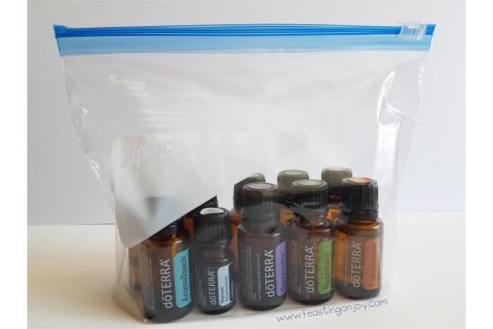 7 Tips to Travel Smart with Your Essential Oils 5 | Feasting On Joy