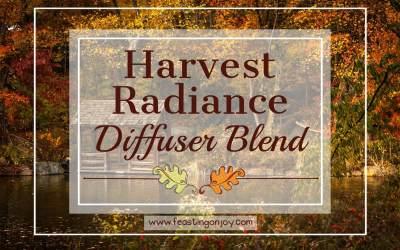 Harvest Radiance Diffuser Blend