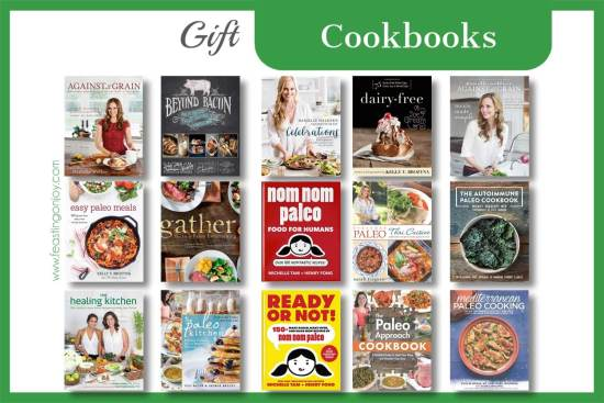 The Colossal Gift Guide for Living the Best Holistic Life {Cookbooks} | Feasting On Joy