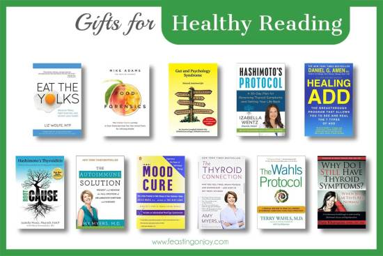 The Colossal Gift Guide for Living the Best Holistic Life {Healthy Reading} | Feasting On Joy