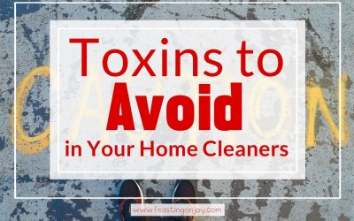 Toxins to Avoid in Your Home Cleaners