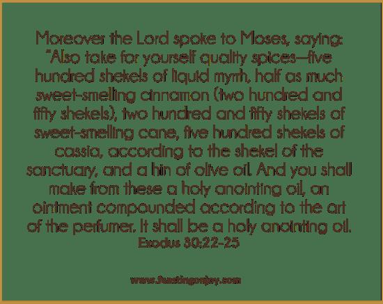 DIY Holy Anointing Oil 3 | Feasting On Joy