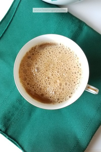 AIP Creamy Butter Coffee {Dairy Free} 2 | Feasting On Joy